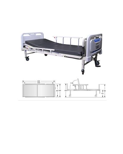 Giường bệnh nhân 1 tay quay – SMS-2207